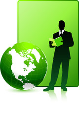 Green report business background