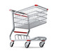 Shopping cart Isolated 2
