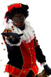 Zwarte Piet ( black pete) typical dutch character
