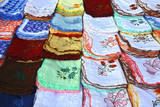 Embroidered placemat,indian handcraft poster
