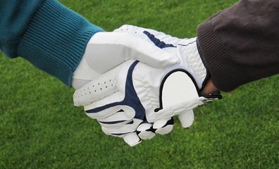 Golf Handshake