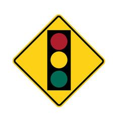 road sign - traffic light