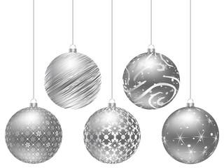christmas globe vector illustration