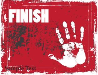 hand grunge background