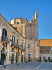 Domenico Ridola road. Matera. Basilicata.