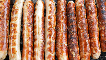 Bratwürste - grilled sausages