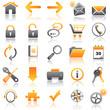 icons orange