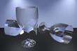 Weinglas in 3D