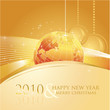 2010 business greeting card