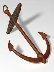 Ancient anchor