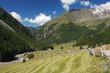 Pfossental, Teil des Meraner Höhenweges, Südtirol.