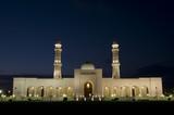 Mosque Sultan Qaboos in night, Salalah, Oman poster