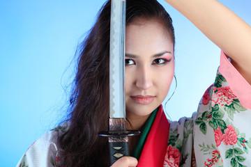 martial woman