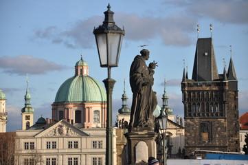 Karlsbrücke in Prag, Altstädter Brückemturm