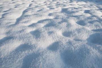 distesa di neve