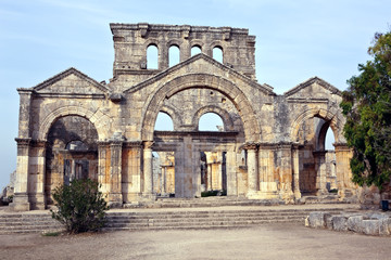 Syria - Church of St. Simeon - Qal'a Sim'an