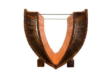 Modelli Di Leonardo Da Vinci - Imbarcazione A Doppio Scafo