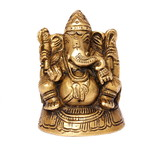 Bronze statue of the Indian God Lord Ganesh poster