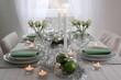 Weihnachtlicher Tisch