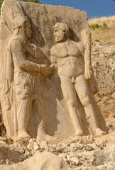 Nemrut - Turkey - colossal statues on Nemrut Mount