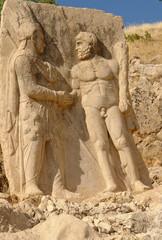 Nemrut - Turkey - colossal statues on Nemrut Mount