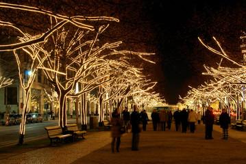 Berlin Unter den Linden Weihnachten 03