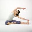 femme exercice étirement