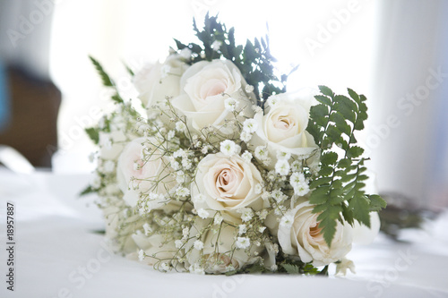 Wedding bouquets, detail