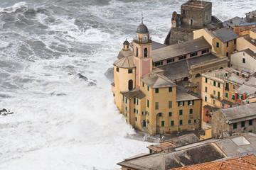 Storm on Camogli