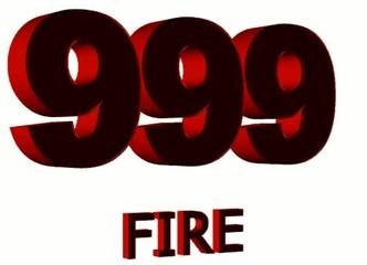 999 fire