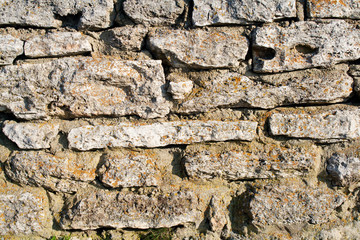 Abstract background with old stone wall
