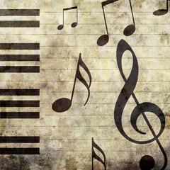 Klavier-Musik-Hintergrund