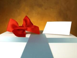 Caja de regalo blanca