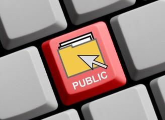 Public files online