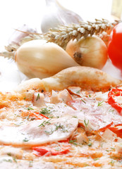 Italian pizza..