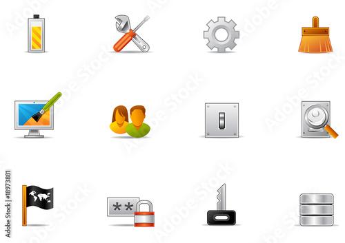 Pixio set #16 - Control panel icons