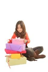 女孩和礼物