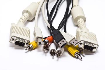 A set cables