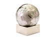 Jigsaw globe puzzle on white