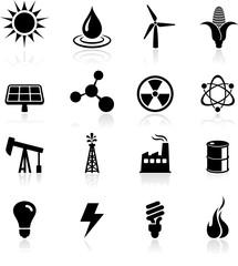Environmental icons set