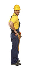 positive standing manual worker