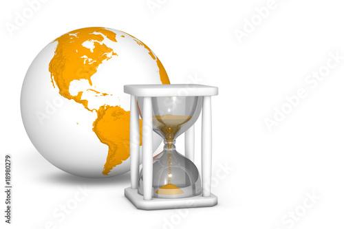 Klepsydra odmierzająca czas - 18980279