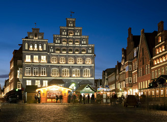 Lüneburg: Industrie - und Handelskammer Weihnachten