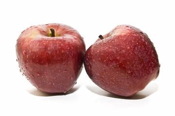 Frescas manzanas