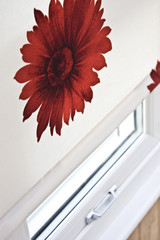 Flower Pattern Blind