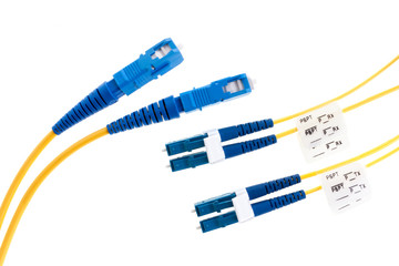 Two types of fiber cables