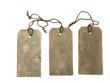Three large tags