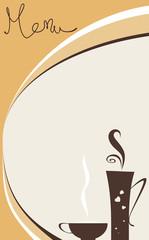 Cafe menu_mono