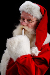 santa portrait  shush
