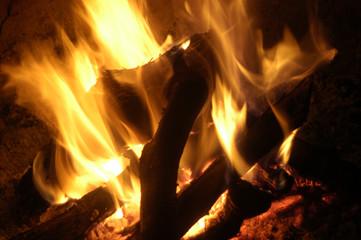 Textura de fuego 09